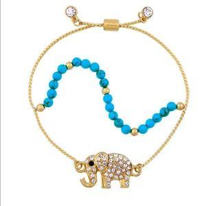 Betsey Johnson Elephant Bracelet
